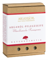 Argan soap with Moroccan Rose 110 gr